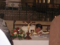 Bendición del Altar
