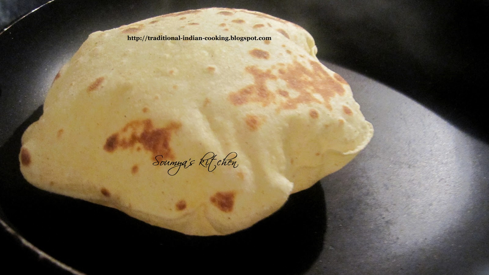 how to make indian roti