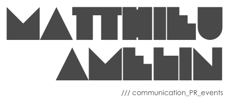 matthieu amelin  /// communication_PR_events