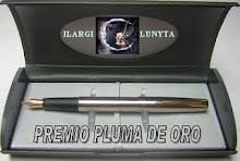 PREMIO PLUMA DE ORO OTORGADO POR ( AMOR Y DESAMORES)