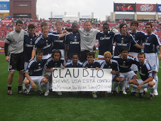 Claudio Suarez, Vicente Suarez, Chivas USA