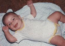 Brian as a baby