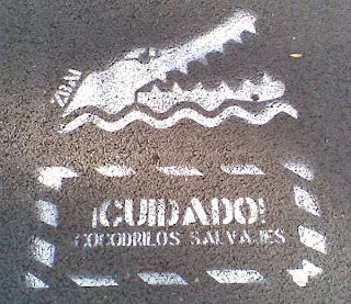 Cocodrilos salvajes de Barcelona