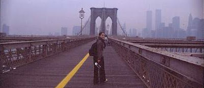 A. en en puente de Brooklyn long time ago