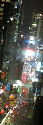Times Square desde el Novotel de la calle 52 (Nueva York, 2007)