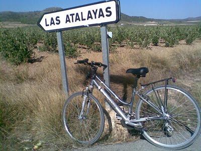 Yecla, paseo en bici