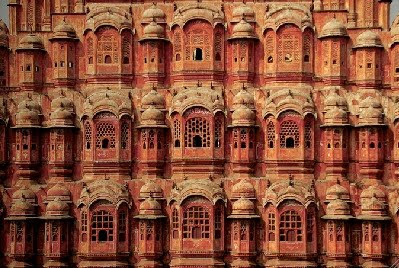 Jaipur, Hawa Mahal (Palacio de los Vientos). Foto de T. Dalmau