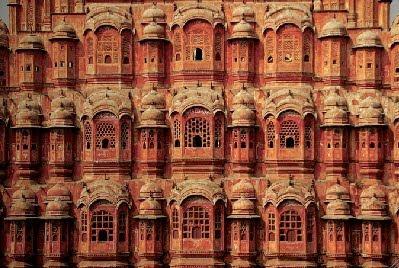 Jaipur, Hawa Mahal (Palacio de los Vientos). Foto de T. Dalmau