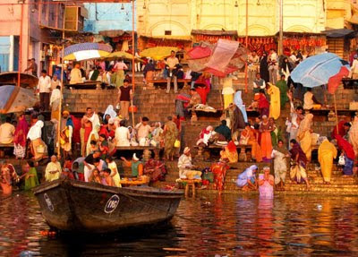 El Ganges en Varanasi