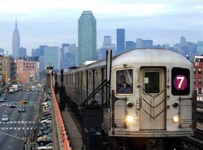 Line 7 New York Subway