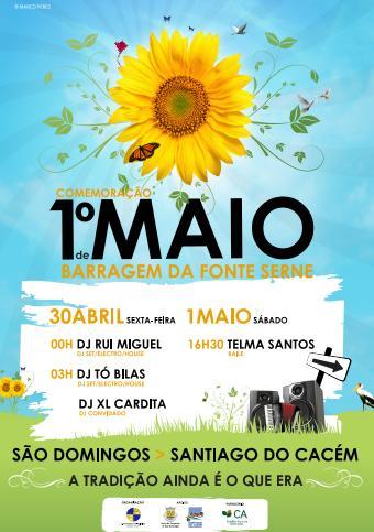 Agenda: DJ Rui Miguel @ Festa 1ºMaio