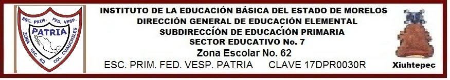 """Escuela Primaria """"PATRIA"""""""