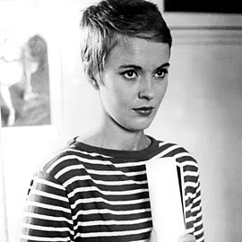 Jean Seberg epitomizes the