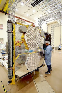 new globalstar satellite testing