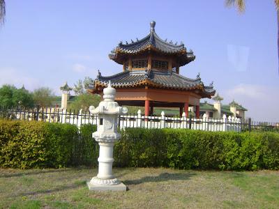 Widok na świątynię