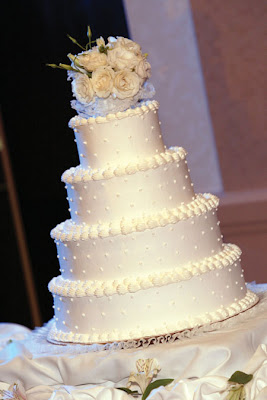 sample wedding cake