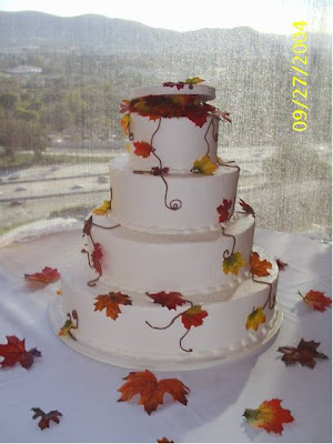 cakes autumn ideas