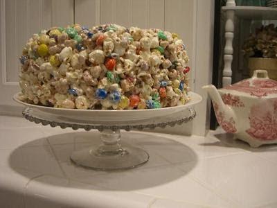 Popcorn Wedding Cakes