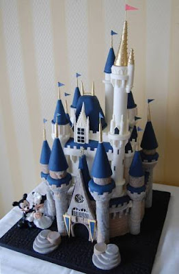 Disney Wedding Cakes decoration
