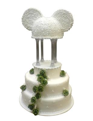 mickye wedding cake