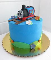 thomas wedding cake