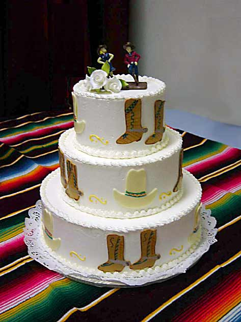 lily\'s Cakes And Breads: Western Wedding Cakes \