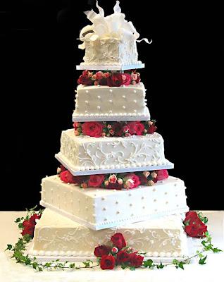 Example Of A Fake Wedding Cake Decoration