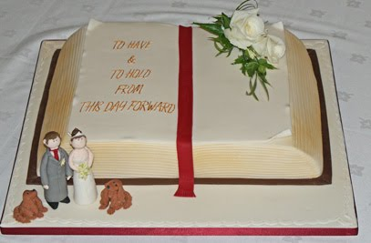 Cake Decorating Idea Books : Book cake decoration ideas