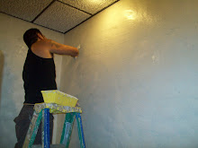 Applying the texture over wallpaper