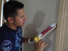 We can caulk all the trim around your windows, doors, and trim before it's painted.