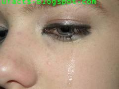 Crocodile tears facial