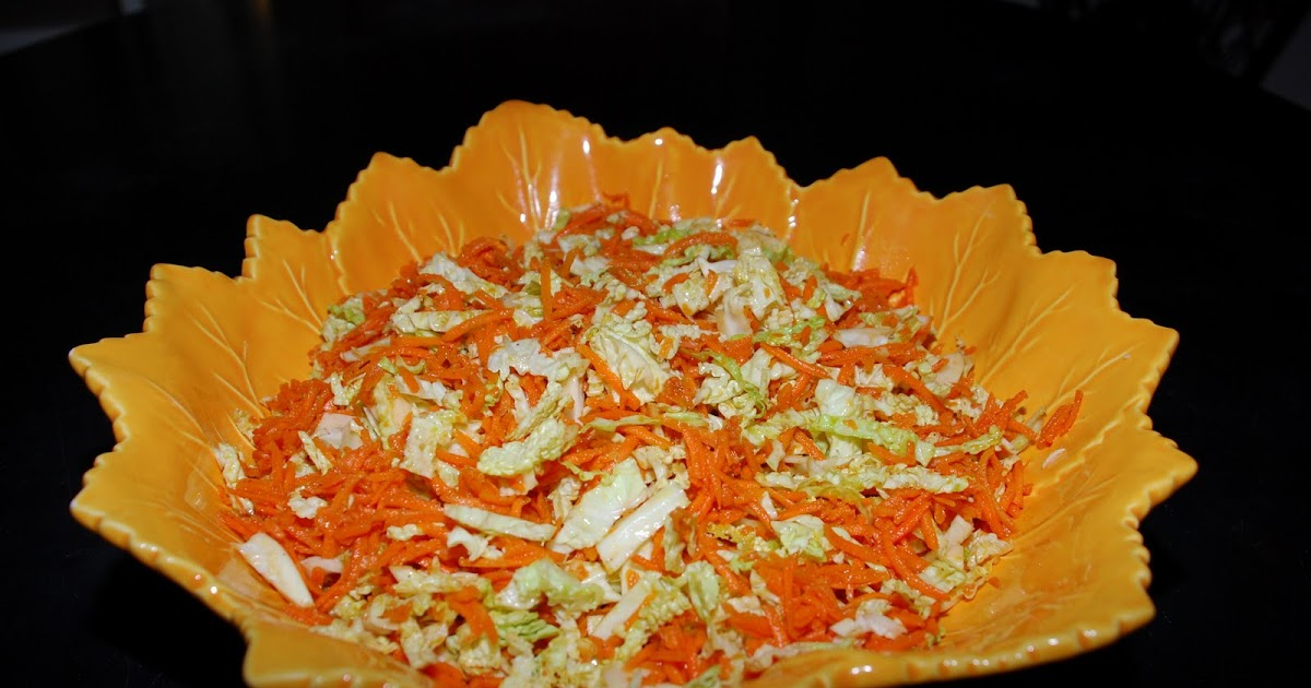 Tomatoes on the Vine: Carrot Cabbage Slaw with Cumin ...