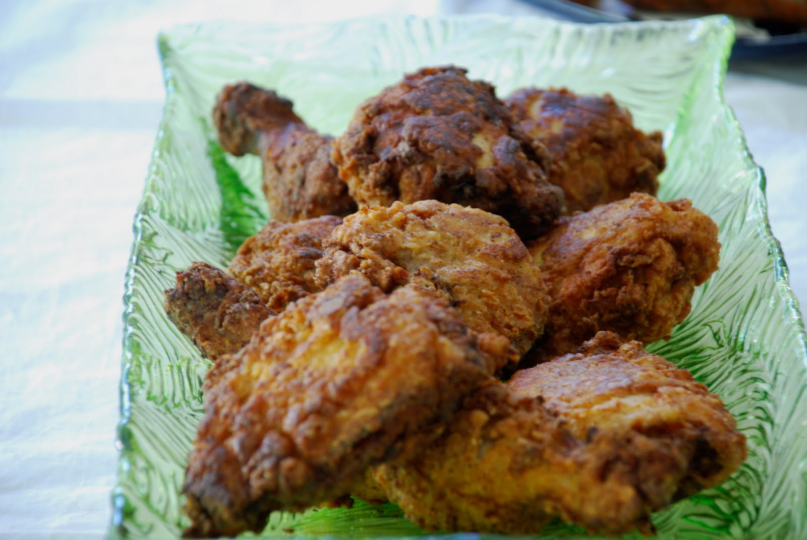 Tomatoes on the Vine: Buttermilk Fried Chicken