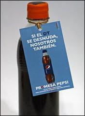 Garrafa Pepsi