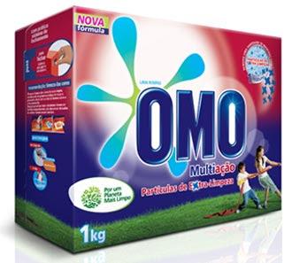 Omo lança Omo Multiação Partículas de Extra-Limpeza