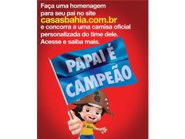 Casas Bahia lança campanha de Dia dos Pais
