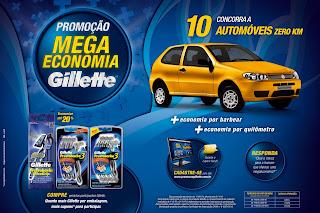 """NewStyle desenvolve promoção """"Mega Economia Gillette"""""""