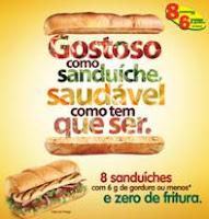 Campanha do Subway foca em ingredientes Saudáveis