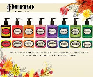 Phebo promove fragrâncias
