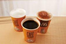 Café grátis no McDonald's