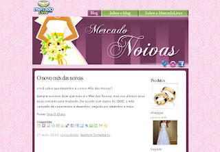MercadoLivre.com lança blog com dicas para quem vai se casar