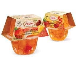 Nova linha de embalagens para salada de frutas pronta da Fugini