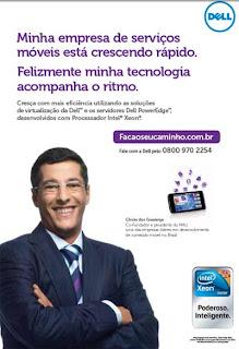 Dell mostra seus heróis em campanha