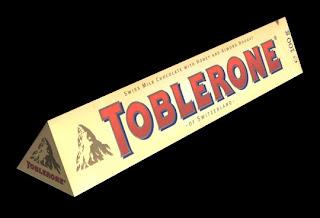 Toblerone conquista o paladar brasileiro