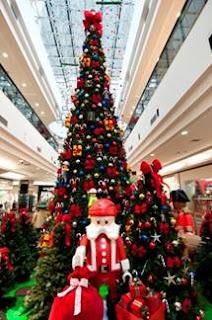 Playmobil enfeita Brasília Shopping para o Natal