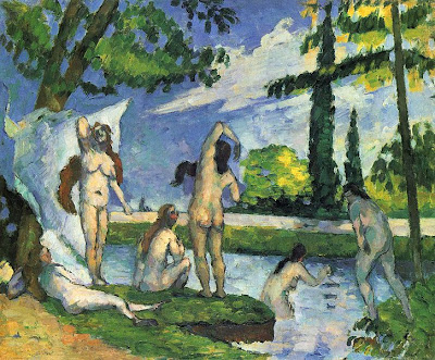 Paul Cézanne Paul+cezanne+Baigneuses