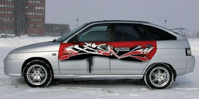 graphics for car