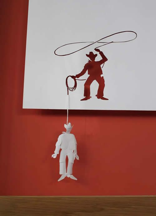 paper art 16 - Mind boggling paper crafts