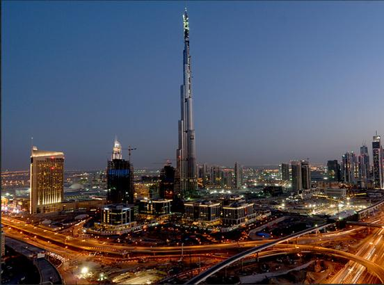 Worlds tallest building interior - the burj khalifa
