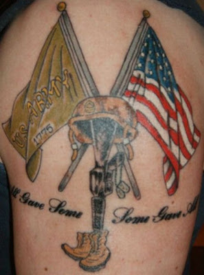 military tattoo designs